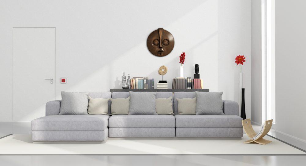 Sofá modular gris